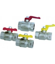 Ball valves with threaded connection